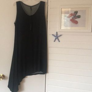Capote Asymmetrical Sleeveless Dress XL NWTs